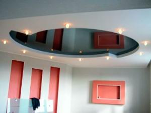 дизайн многоуровневых потолков