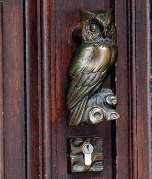 старинная дверная ручка-3