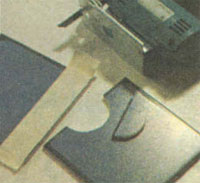 выпиливание электролобзиком керамической плитки