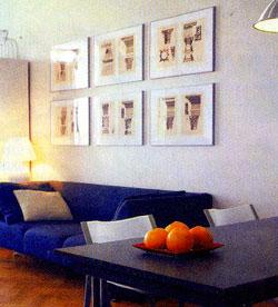 картины в дизайне комнаты