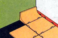 установка фасоных бортиков