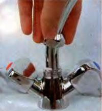 ремонт горловины смесителя