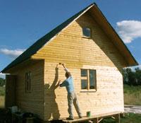 защита дома от гниения