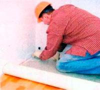 укладка линолеума на бетон