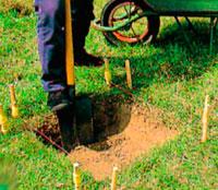 изготовление садовой дорожки