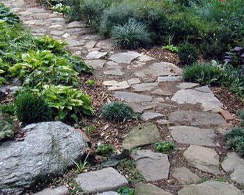 дорожки садовые из камня