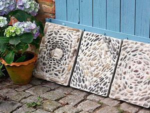 мозаичные бетонные плиты