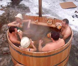 японская баня фуро
