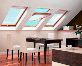 кухня на мансарде дизайн
