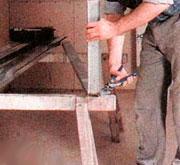 крепление вставок к металлическому профилю