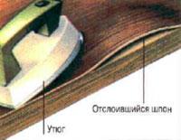 реставрация шпона своими руками