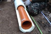 утеплить канализацию в грунте