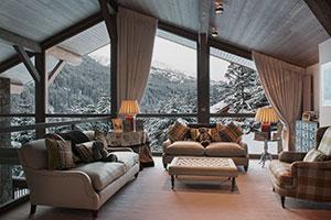 дома с панорамными окнами